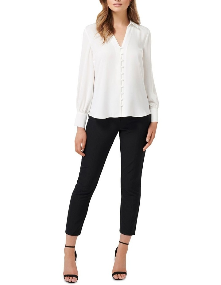 Larissa Button Front Relaxed Blouse image 5