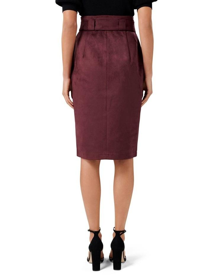 Mel Suedette Utility Pencil Skirt image 3