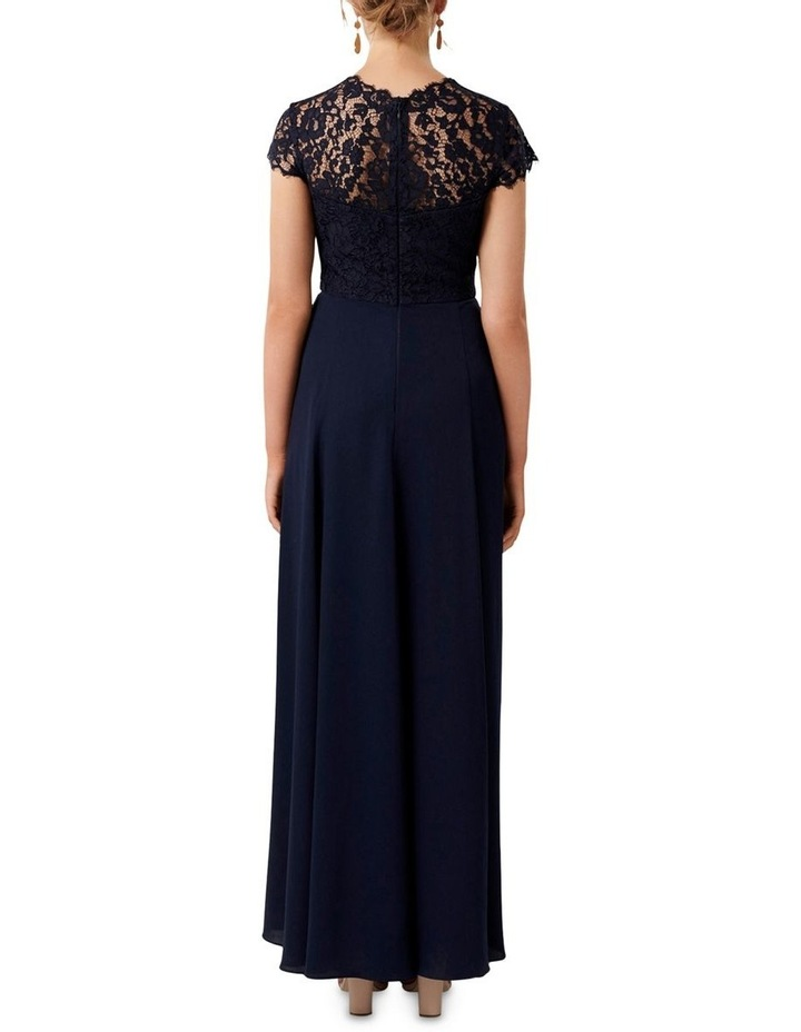 Macie Cap Sleeve Lace Bodice Gown image 4