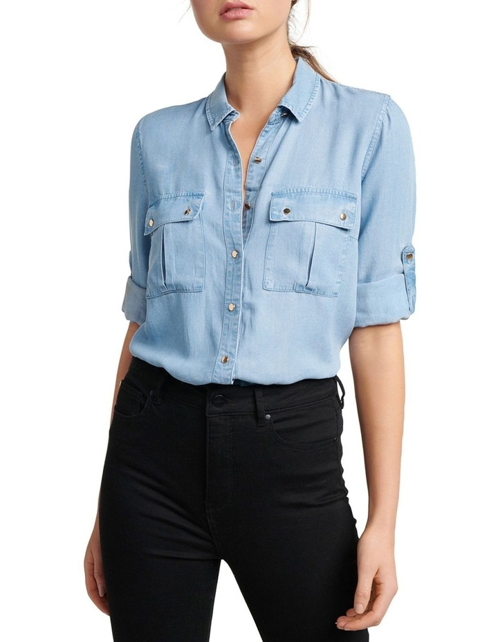 Amy Denim Shirt image 2