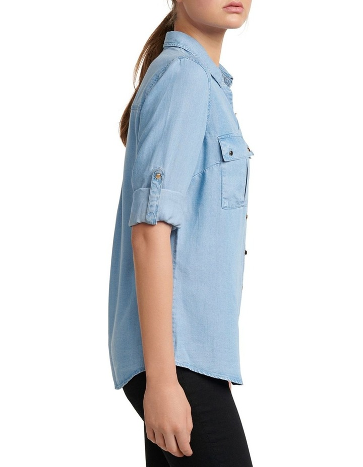 Amy Denim Shirt image 3