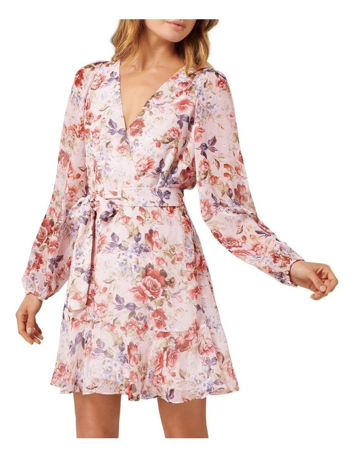 Sophia Wrap Mini Dress image 1