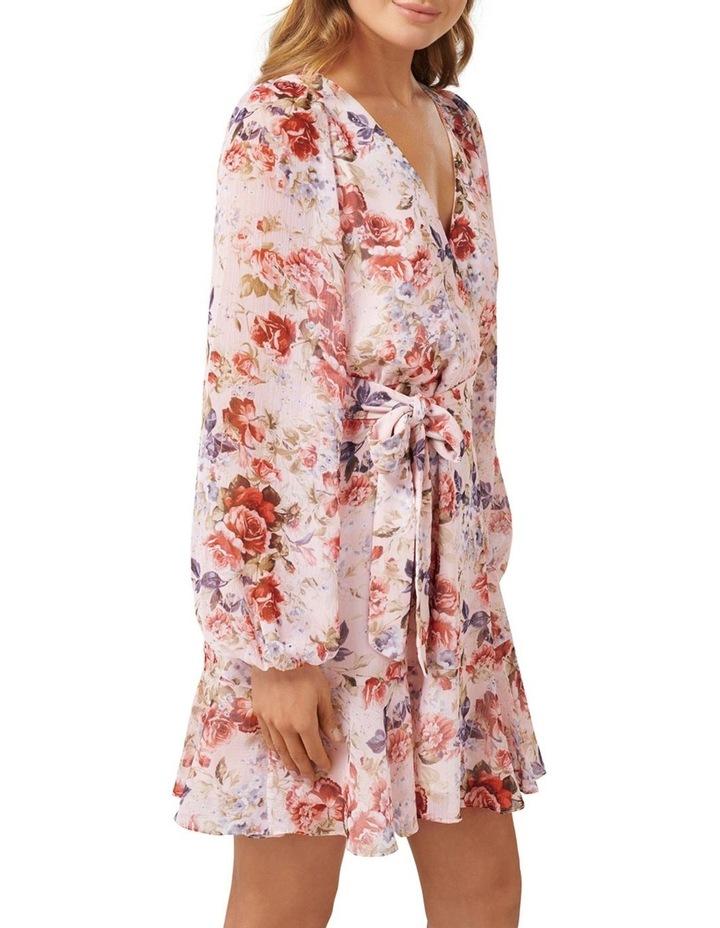 Sophia Wrap Mini Dress image 2