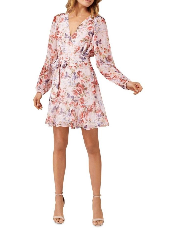 Sophia Wrap Mini Dress image 4