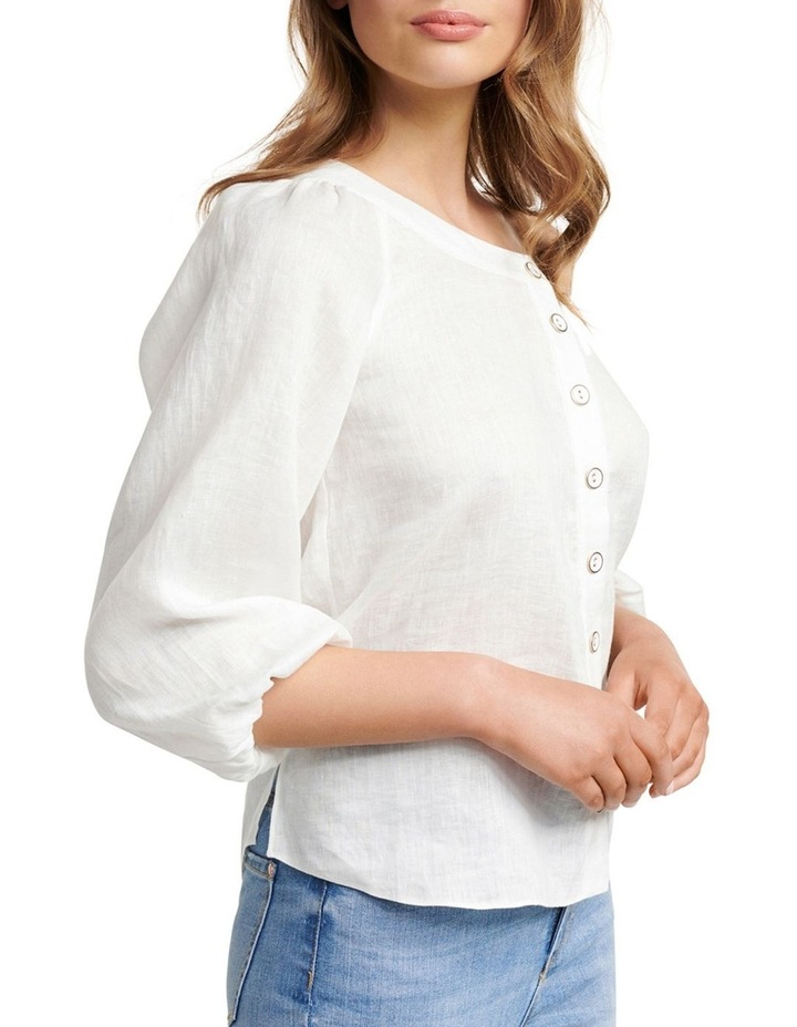 Posie Tipped Shoulder Blouse image 3