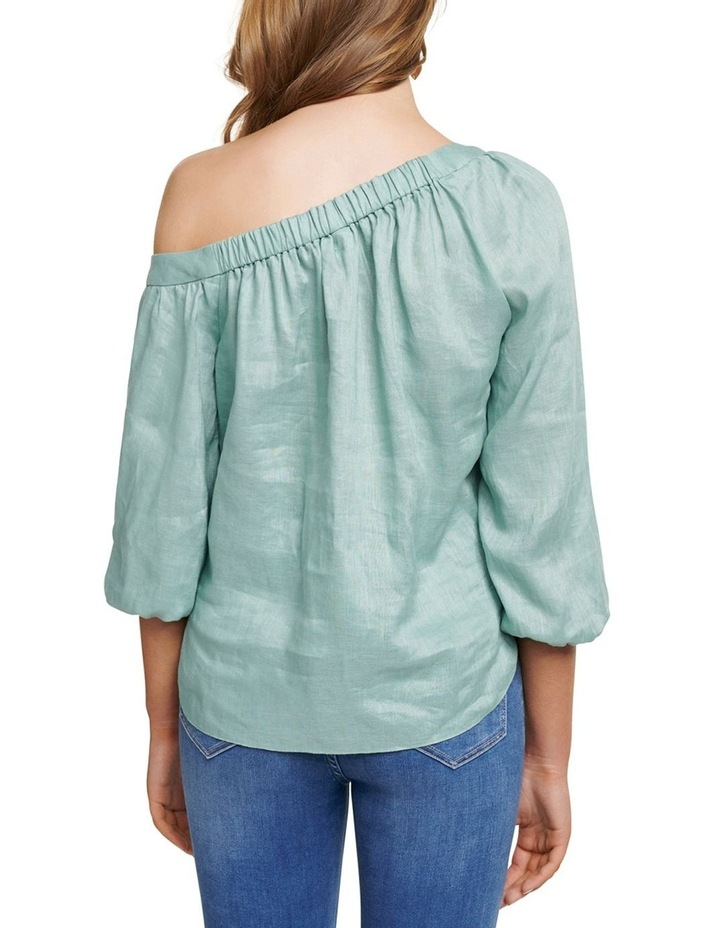 Posie Tipped Shoulder Blouse image 4