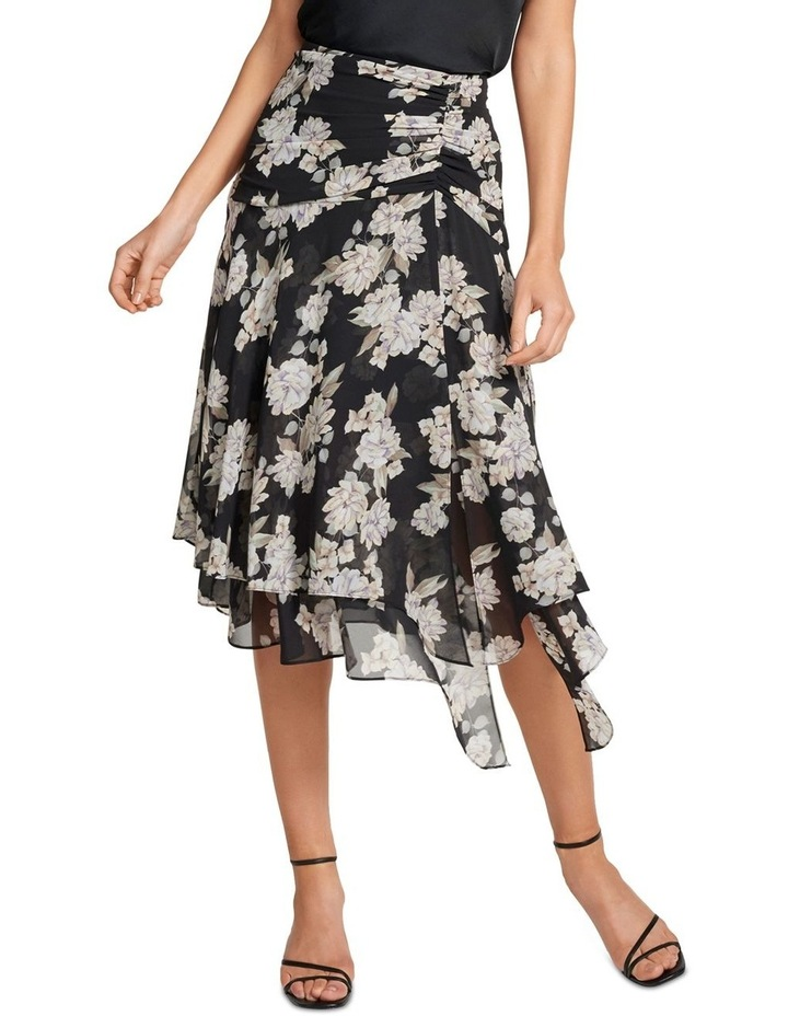 Lara Ruched Layered Skirt image 1
