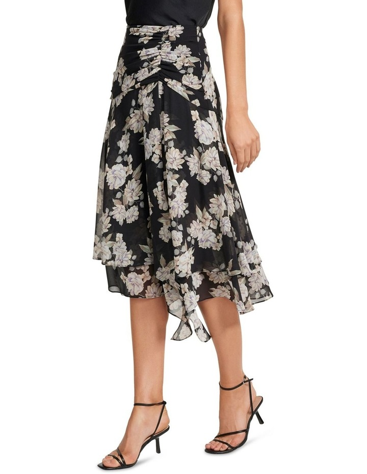 Lara Ruched Layered Skirt image 2