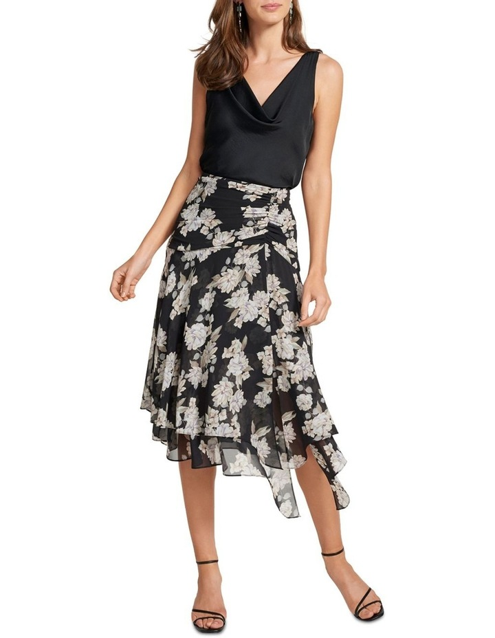 Lara Ruched Layered Skirt image 4
