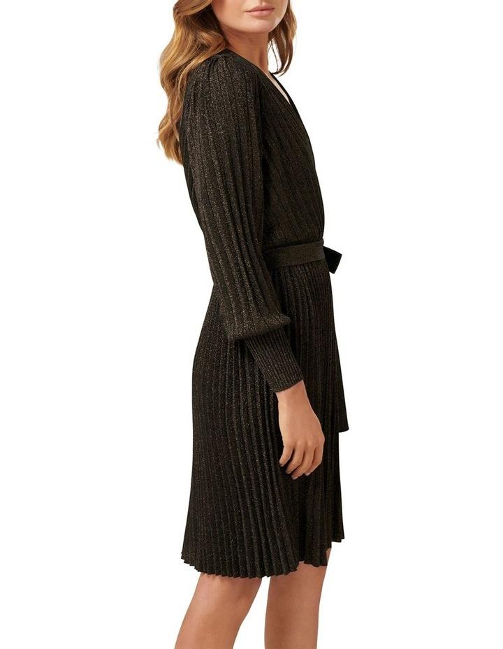 Cindy Metallic Knitted Dress image 2