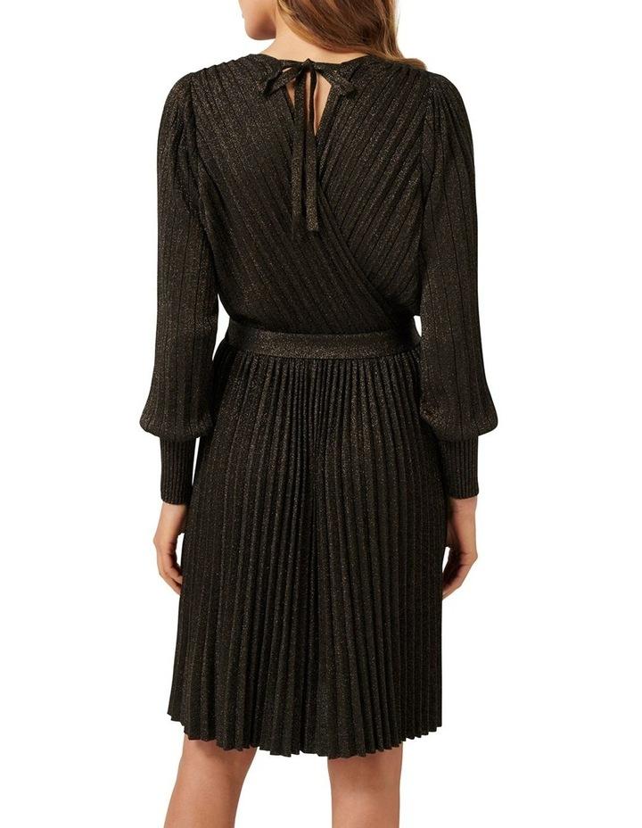 Cindy Metallic Knitted Dress image 3