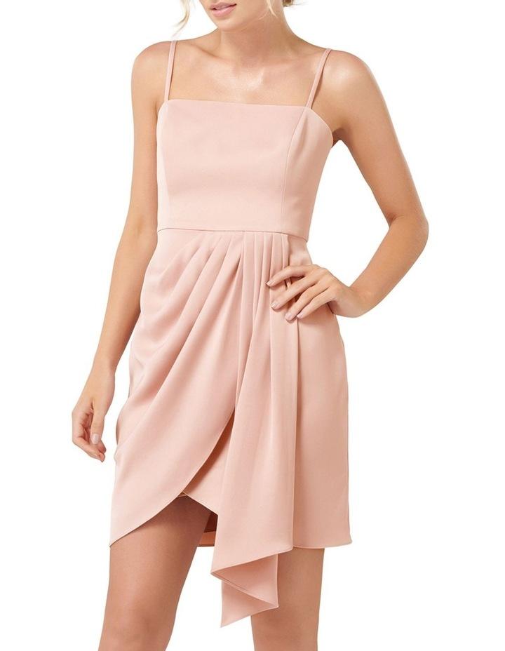 Romy Satin Drape Mini Dress image 1