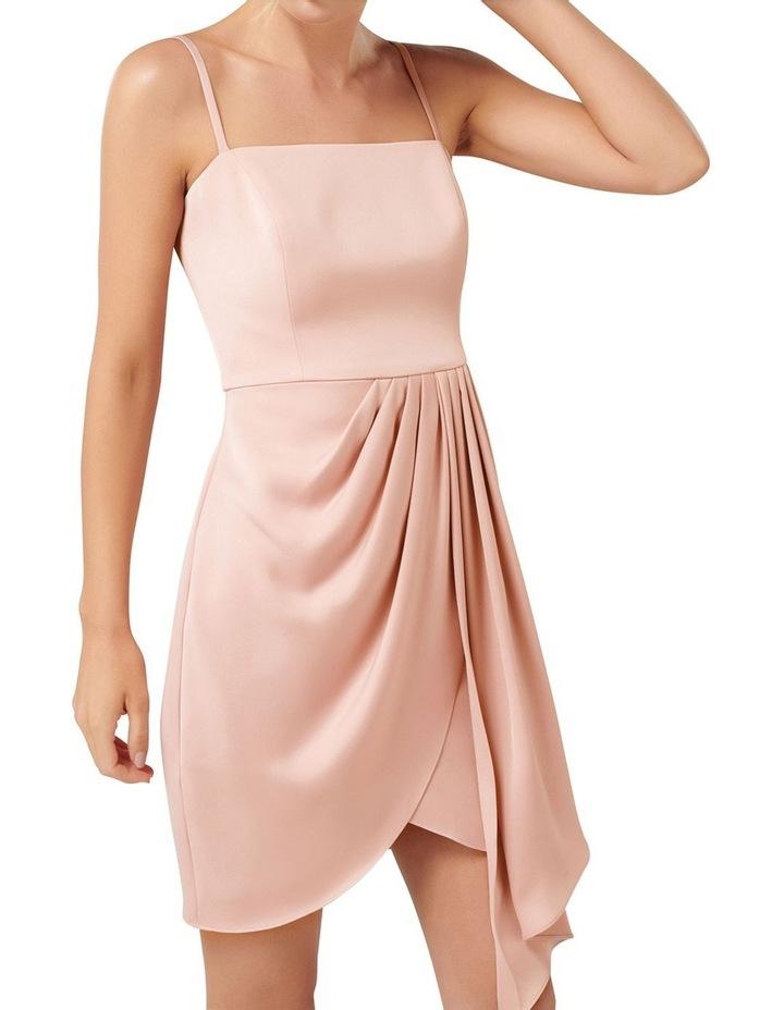 Romy Satin Drape Mini Dress image 2