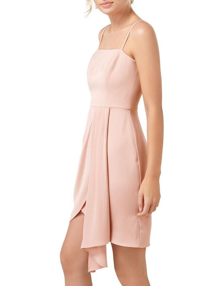 Romy Satin Drape Mini Dress image 3