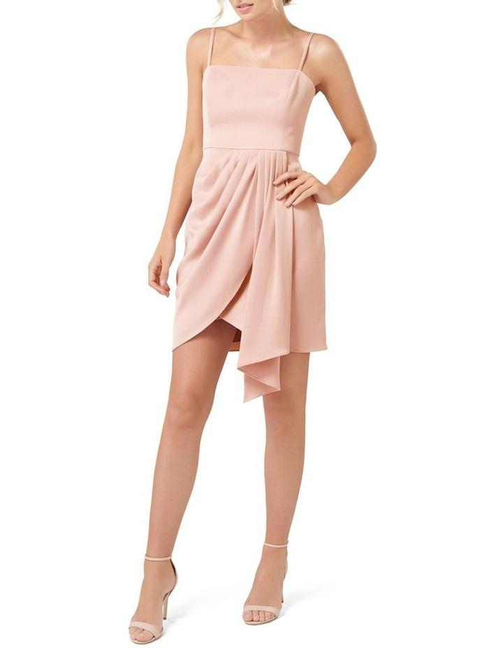 Romy Satin Drape Mini Dress image 5