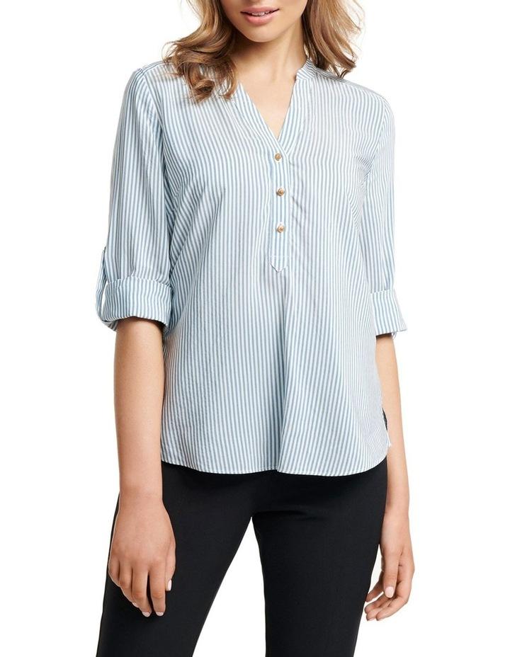 Daniela Stripe Button Shirt image 1