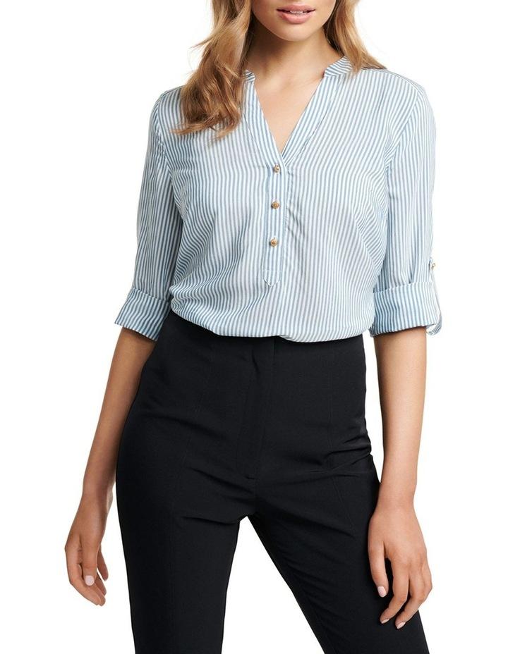 Daniela Stripe Button Shirt image 2