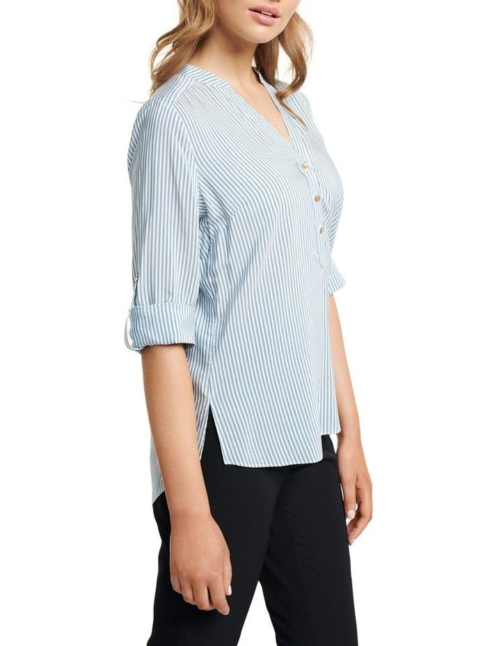 Daniela Stripe Button Shirt image 3