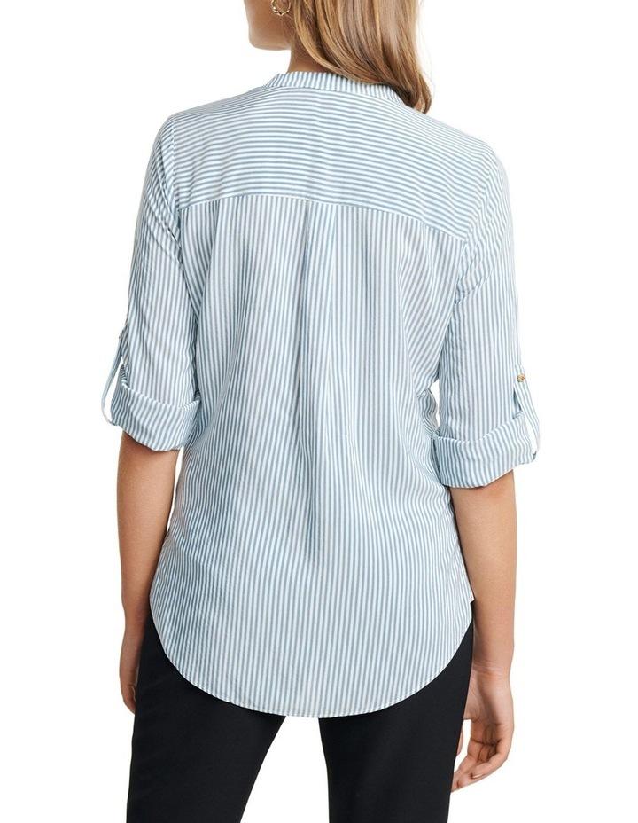 Daniela Stripe Button Shirt image 4