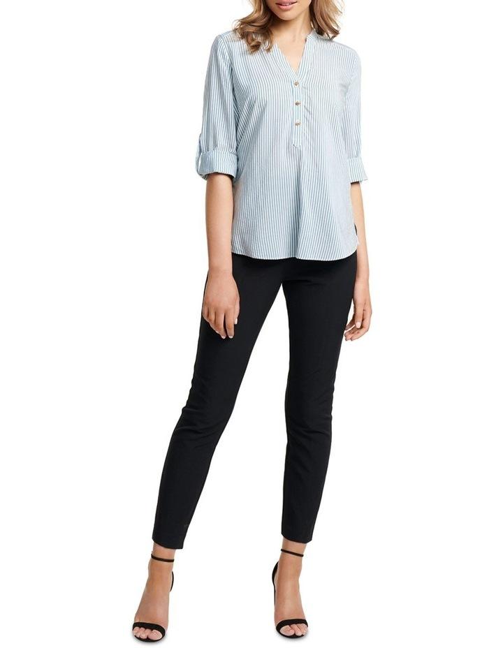 Daniela Stripe Button Shirt image 5