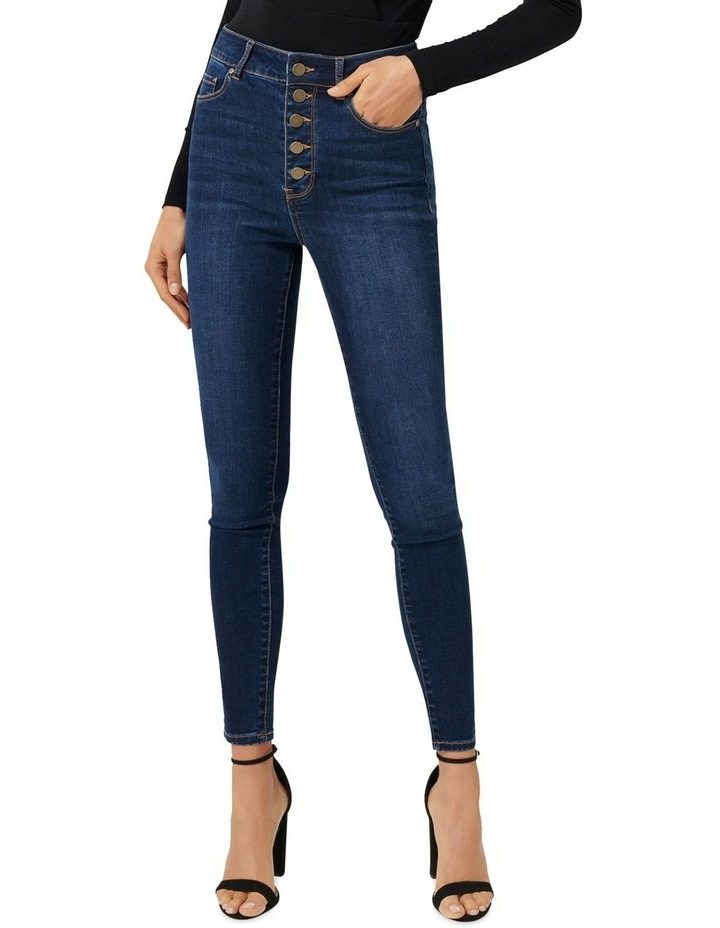 Heidi High Rise Ankle Grazer Jeans image 1