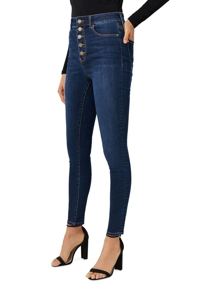 Heidi High Rise Ankle Grazer Jeans image 2