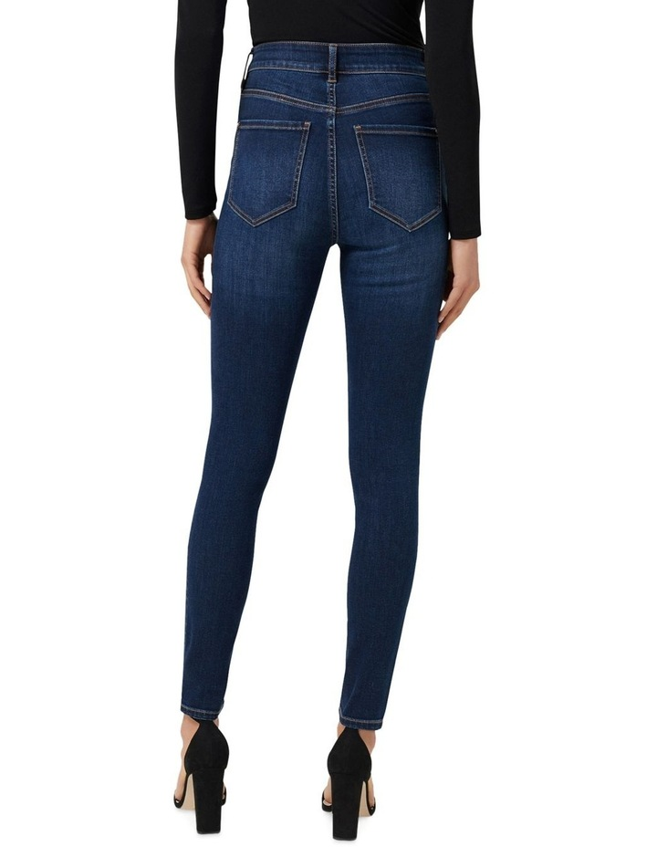 Heidi High Rise Ankle Grazer Jeans image 3