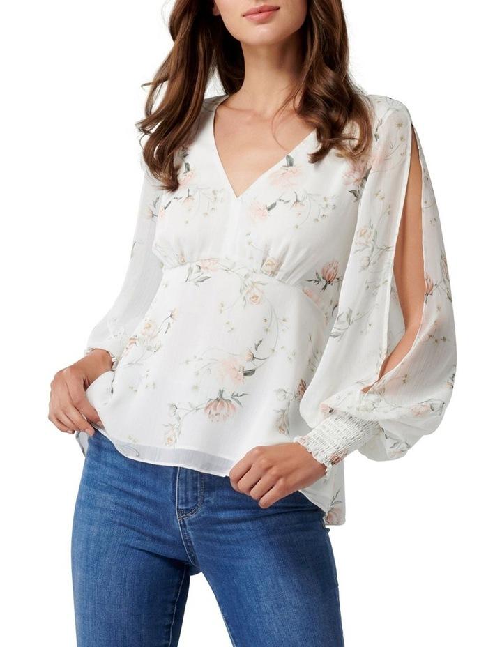 Selena Split Sleeve Blouse image 1