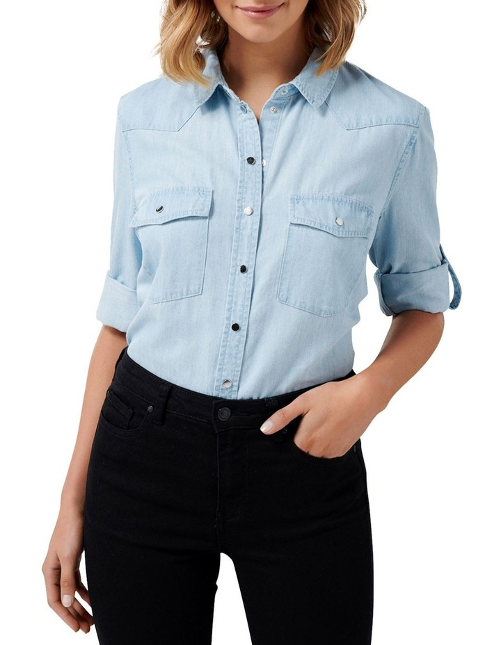 Arielle Western Denim Shirt image 2