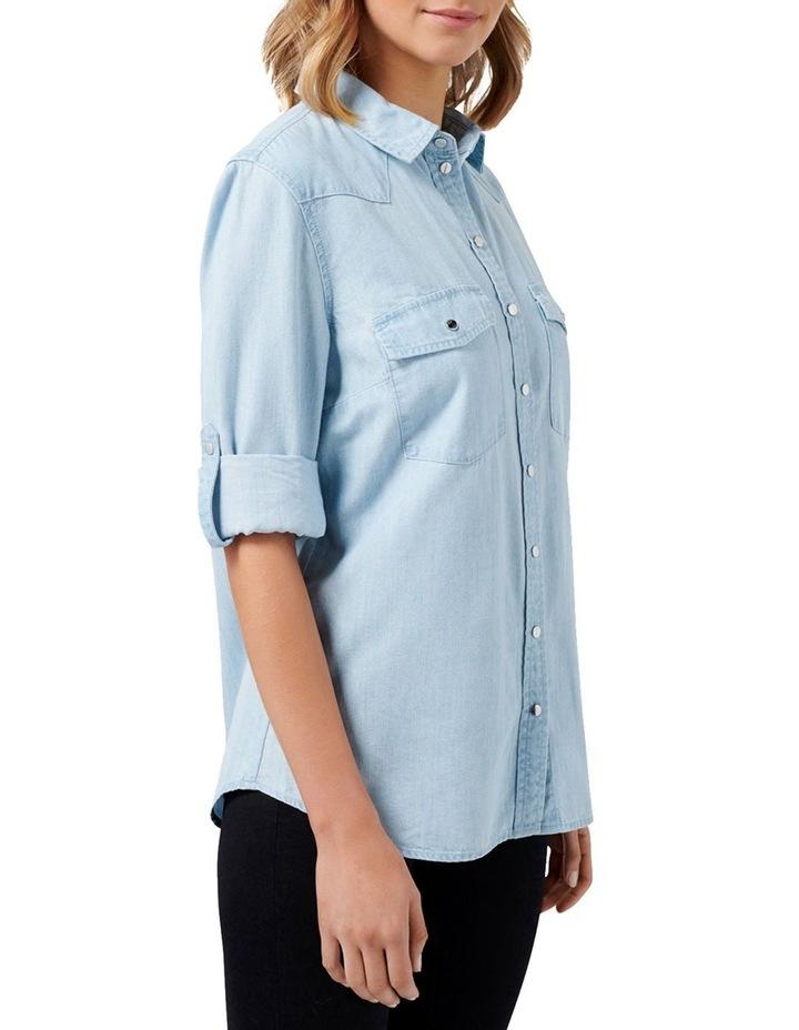 Arielle Western Denim Shirt image 3