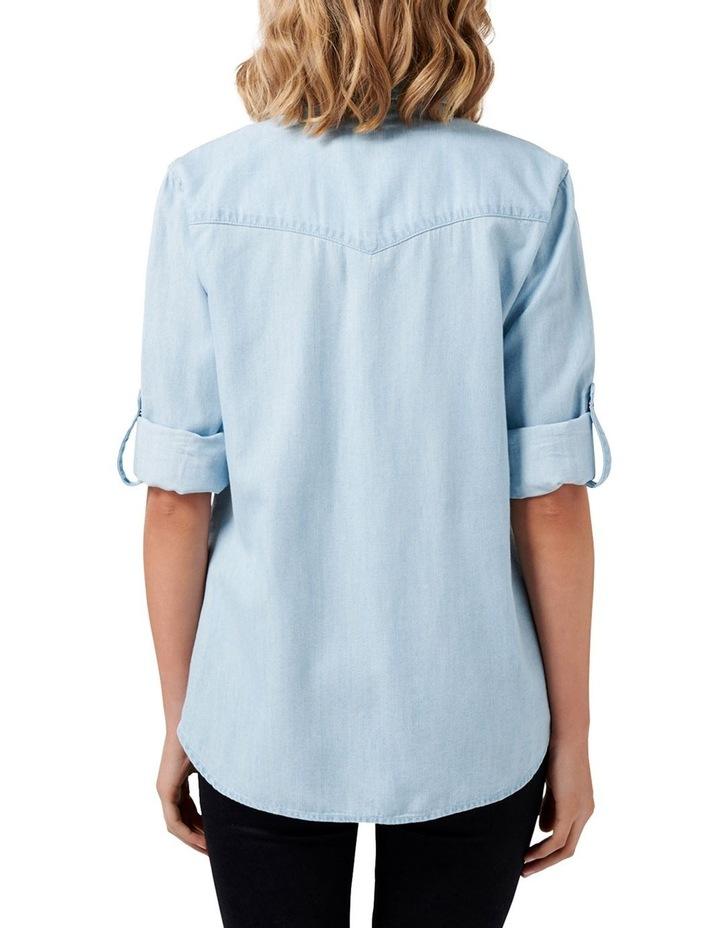 Arielle Western Denim Shirt image 4