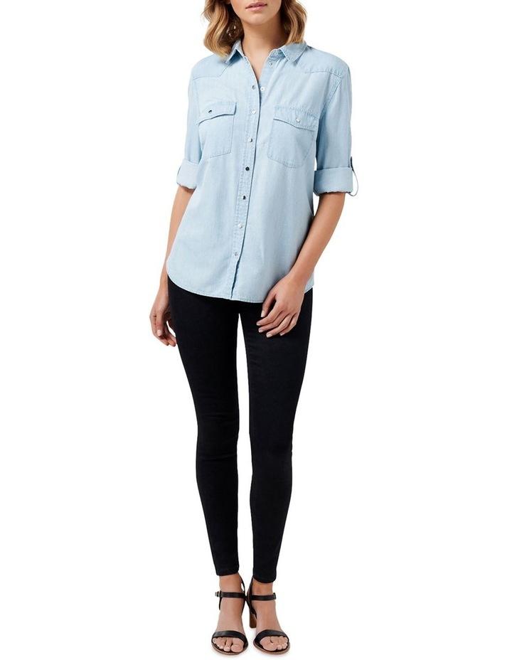 Arielle Western Denim Shirt image 5