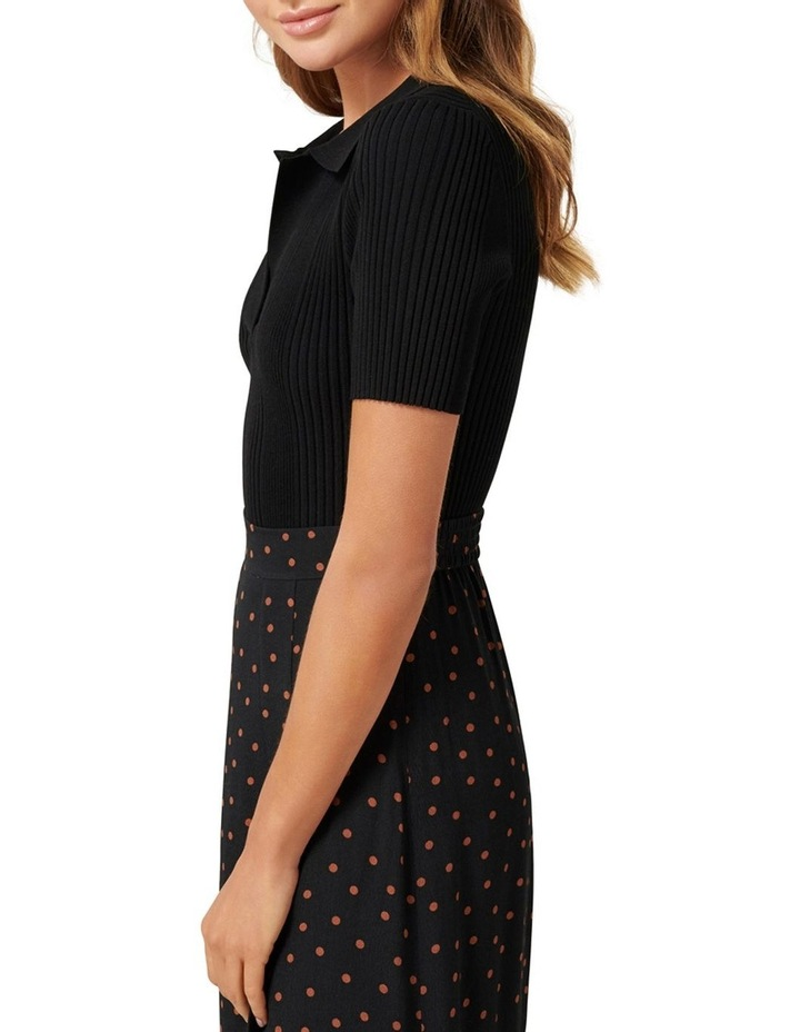 Shannon Knitted Polo Top image 2