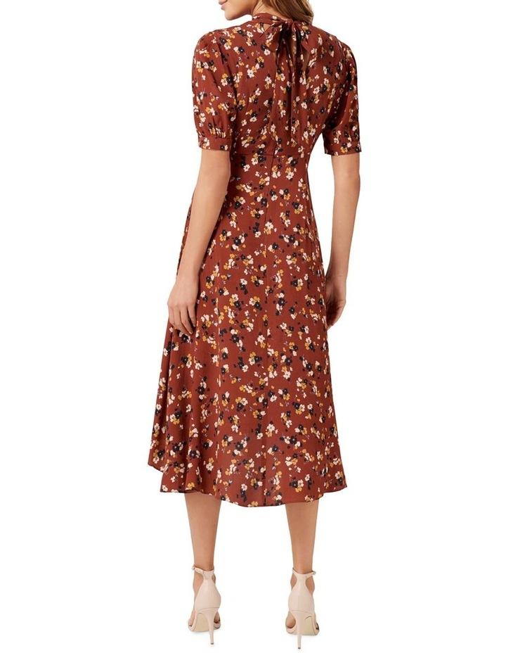Tessa Puff Sleeve Midi Dress image 3