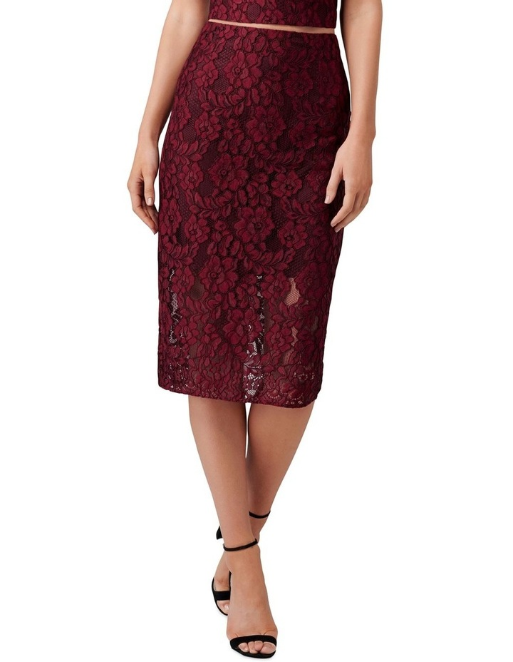 Billie Lace Co-Ord Pencil Skirt image 1