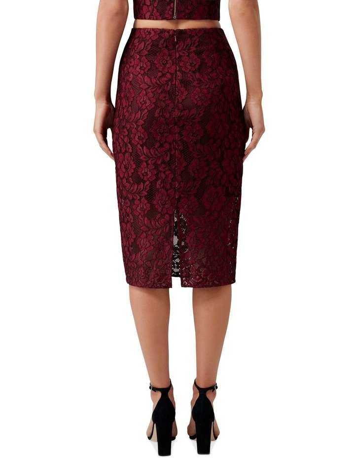 Billie Lace Co-Ord Pencil Skirt image 3