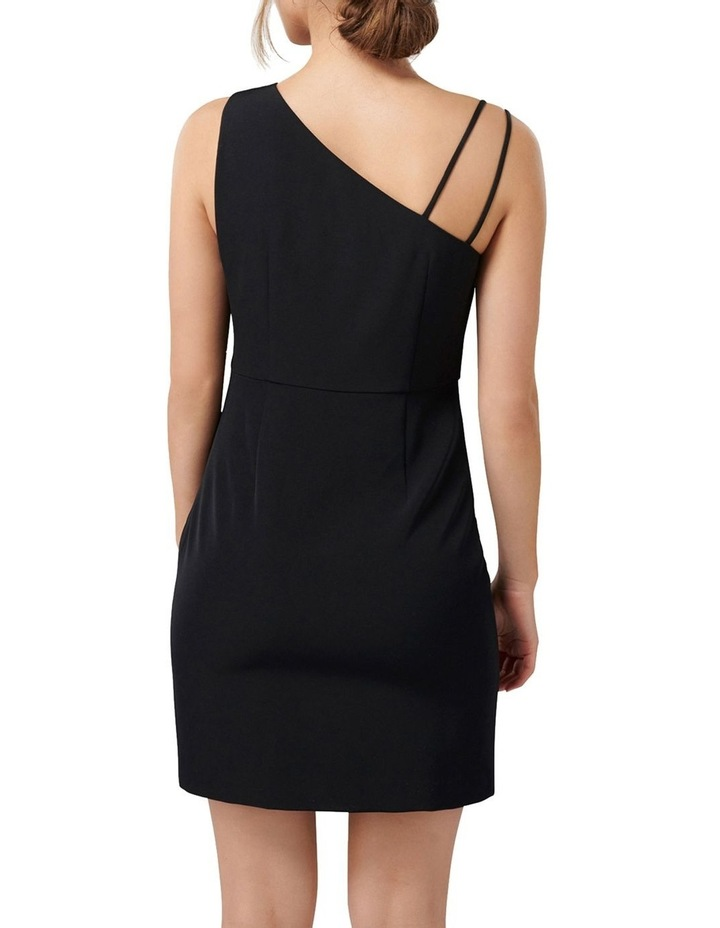 Kiki Asymmetric Bodice Eyelet Mini Dress image 4