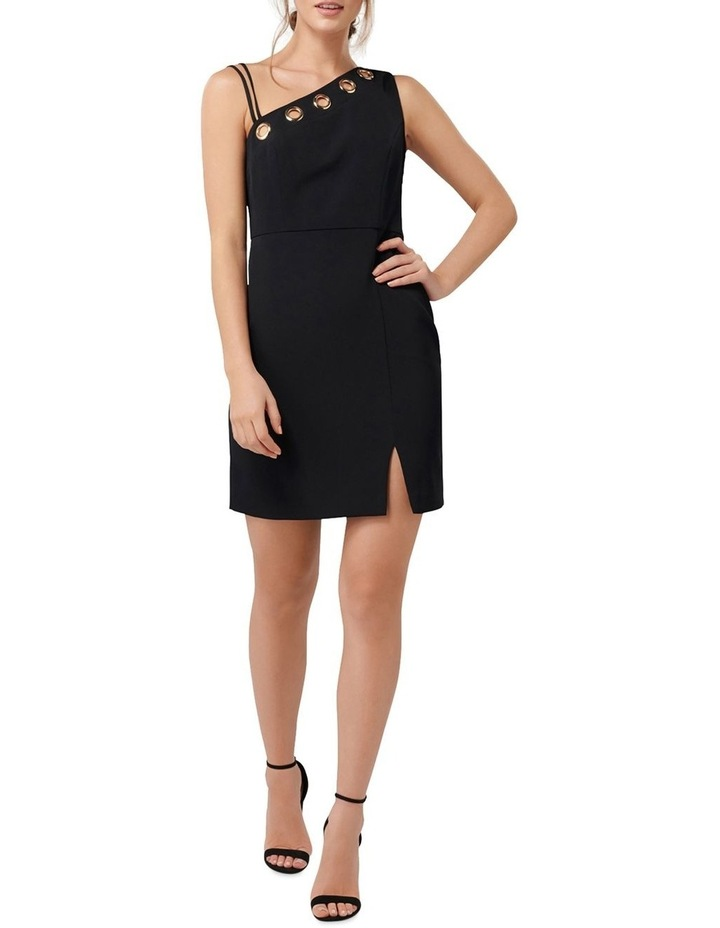 Kiki Asymmetric Bodice Eyelet Mini Dress image 5