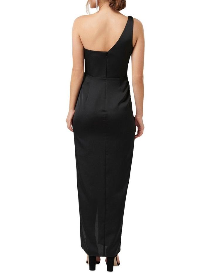 Camille Asymmetric One Shoulder Drape Maxi Dress image 4