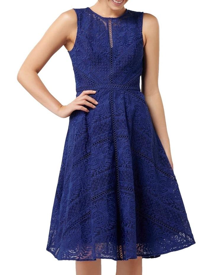 Odette Lace Trim Prom Dress image 1