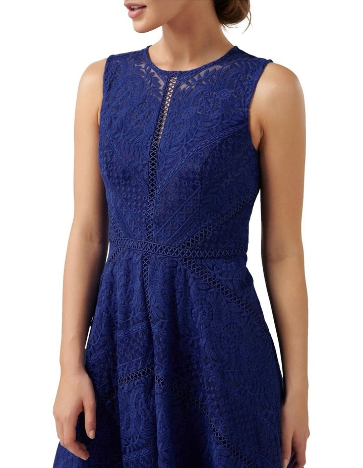 Odette Lace Trim Prom Dress image 2