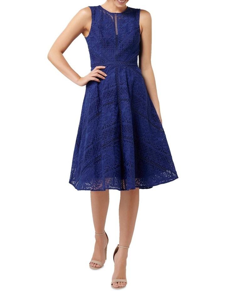 Odette Lace Trim Prom Dress image 5