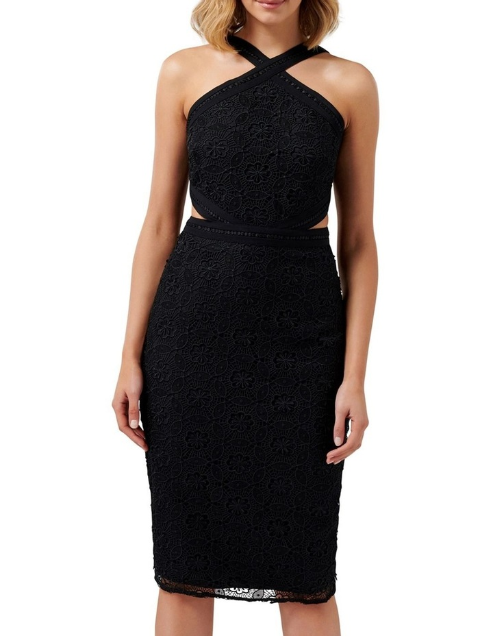 Ariana Halter Neck Cut Out Dress image 1