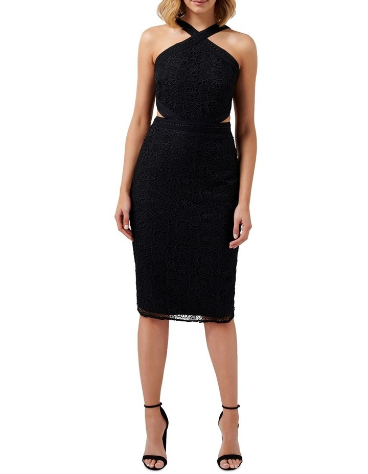 Ariana Halter Neck Cut Out Dress image 5