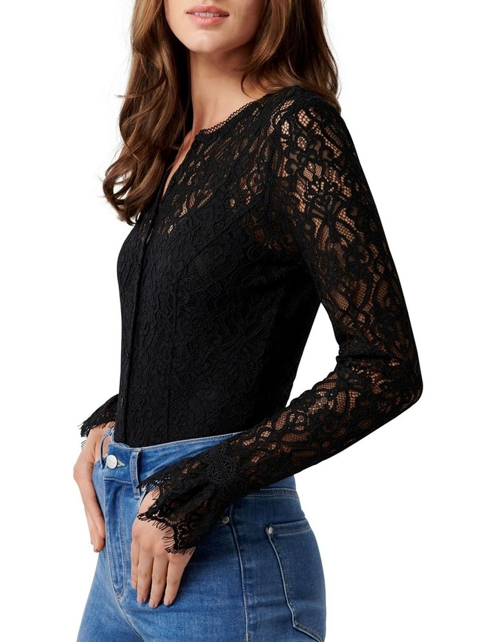 Annora Lace Button Down Bodysuit image 2