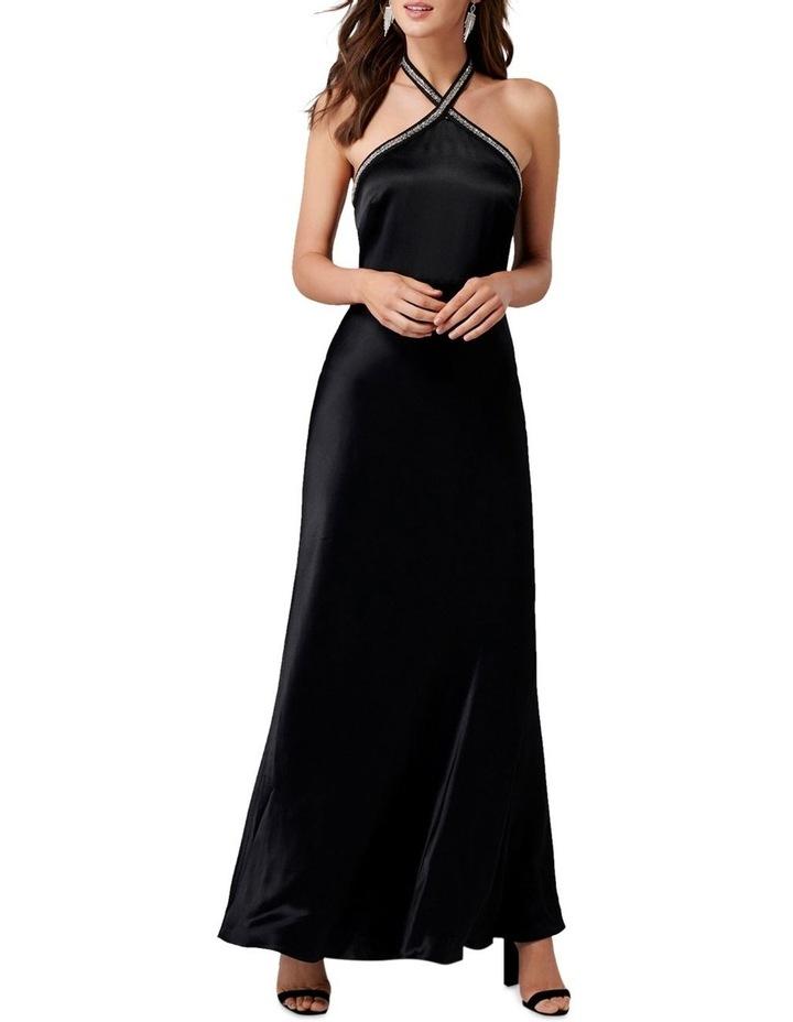 Sloan Embellished Arrow Neck Gown image 1