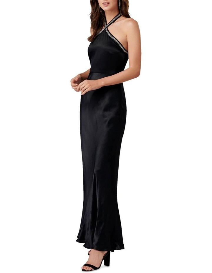 Sloan Embellished Arrow Neck Gown image 3