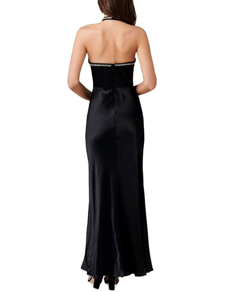 Sloan Embellished Arrow Neck Gown image 4