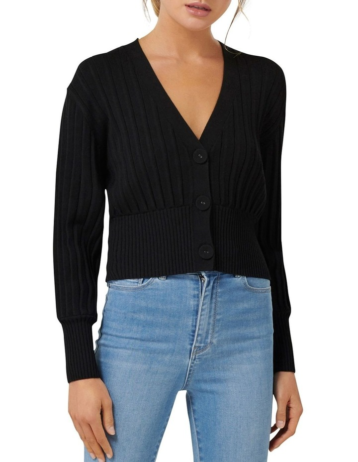 Molly Pleat Button Cardigan image 1