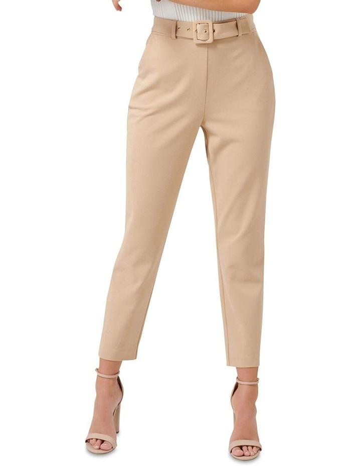 Emelia High Waist Belted Pants image 1
